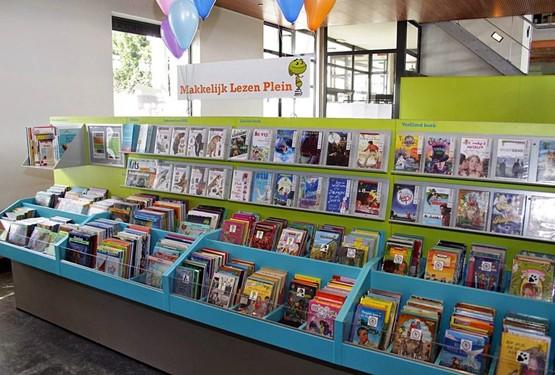 Het Makkelijk Lezen Plein in de bibliotheekvestiging