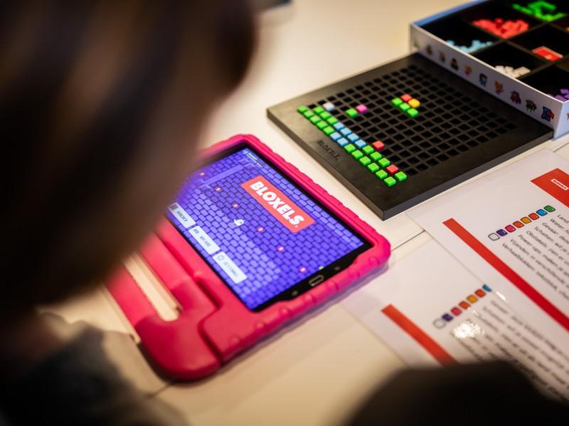 Lab out of the Box-leskist: Games ontwerpen met Bloxels