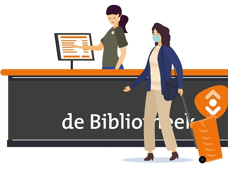 Heropening bibliotheken: handige informatie