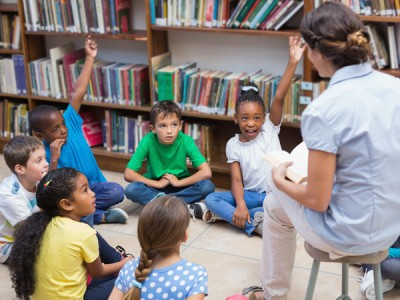 De Bibliotheek op School activiteiten