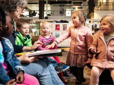 Train-de-Trainer 'Voorlezen, kijken en spelen in de wereld van nu'