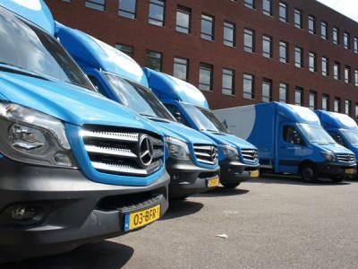 Logistiek vervoer scholen