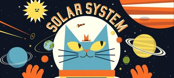 Educatieve app: Professor Astrokats Zonnestelsel