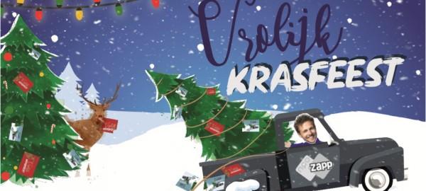 Gratis kerstkraskaarten voor bibliotheken in Noord- en Zuid-Holland!