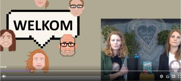 Geslaagde stream digitale geletterdheid via Twitch!