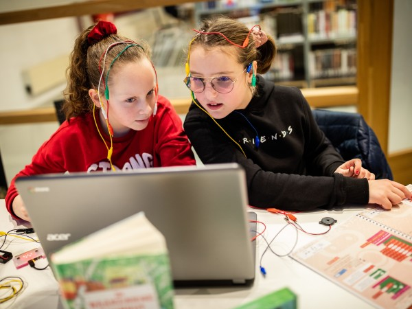Lab out of the Box-leskist: Programmeren met de micro:bit