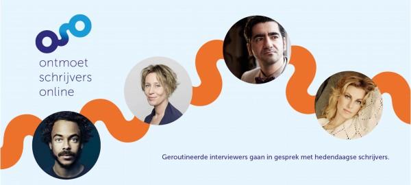 Nieuwe reeks interviews Ontmoet Schrijvers Online