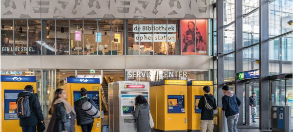 Rapport: De Bibliotheek op het station Rotterdam Centraal
