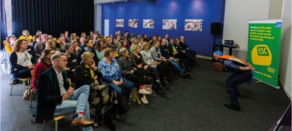 Leren 'rijker' te leven met Jochem Uytdehaage op Bibliotheekplaza 2019