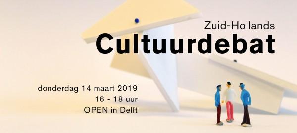 Save the date: Zuid-Hollands Cultuurdebat