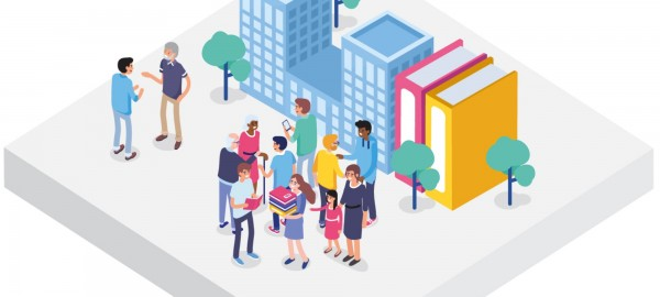 De Community Library: infographic geupdate met learnings uit 2020