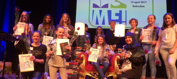 Ivy Tellier winnaar Voorleeswedstrijd Read2Me Zuid-Holland