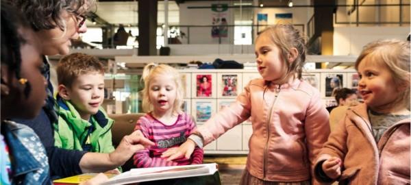 Train-de-trainer Mediaopvoeding - 'Voorlezen, kijken en spelen in de wereld van nu'