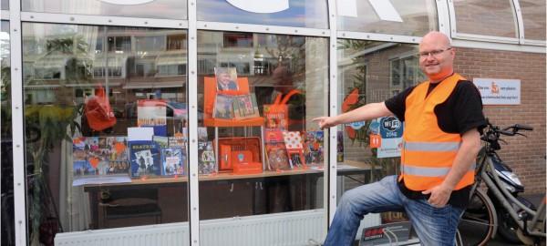 Bibliotheek Nijkerk winnaar Lente-etalagewedstrijd