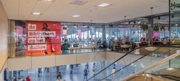 Stationsbibliotheek Rotterdam krijgt een 8!