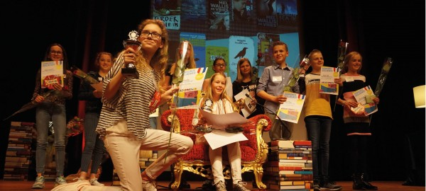 De beste voorlezer uit de brugklas in Zuid-Holland is Nele Quadvlieg!