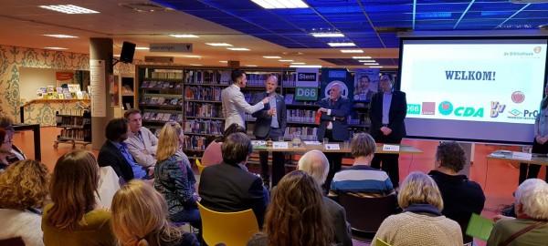 Lokaal debat in de Bibliotheek