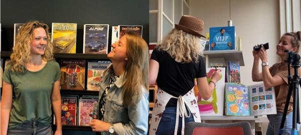 Bibliotheek Waterland: 'We zetten deurtjes open naar de fantasie'