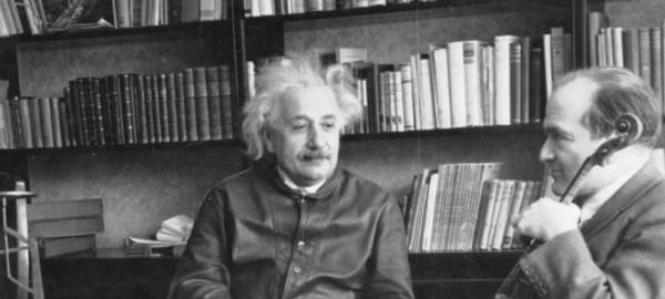 Die goeie ouwe Albert Einstein!