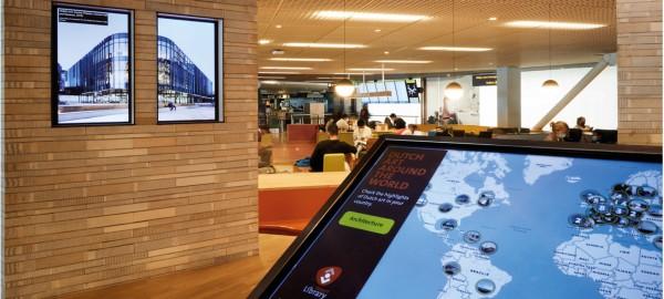 Nederlandse architectuur in het buitenland in Airport Library