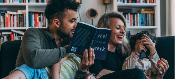 Gezinnen Eus en Jan Rot in podcastserie van de Bibliotheek