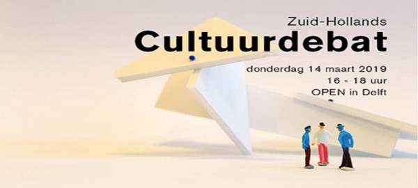 Save the date: Zuid-Hollands Cultuurdebat