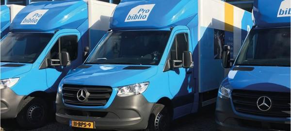 Probiblio zoekt een Chauffeur/Logistiek medewerker