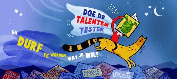 Bestel nu: Talententester voor de Kinderboekenweek 2021