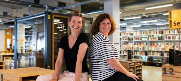 'Wij zijn best eigenwijs!' - Interview Marijke Wempe en Patricia van Waas in De Chocoladefabriek Gouda