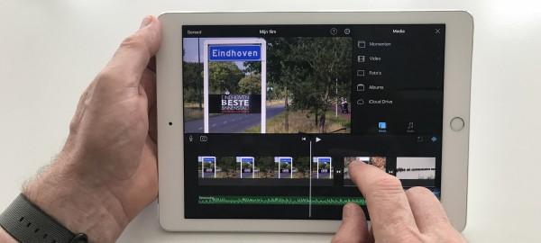 Workshop 'vloggen': filmen en monteren met je iPad of iPhone 2
