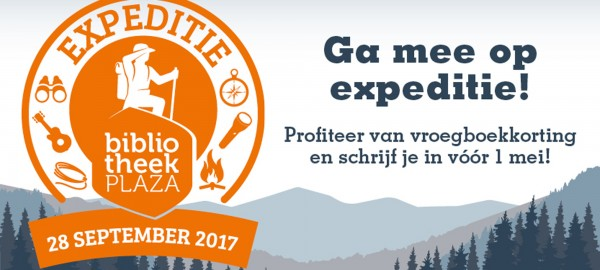 Expeditie Bibliotheekplaza 2017!
