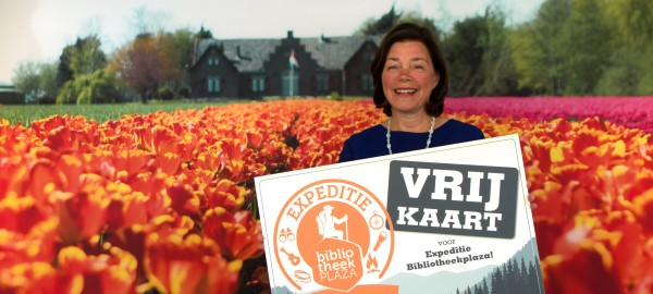 Ineke Blom naar Bibliotheekplaza 2017