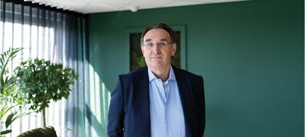 Directeur-bestuurder Frans Bergfeld: 'Online kan altijd en altijd is nooit'